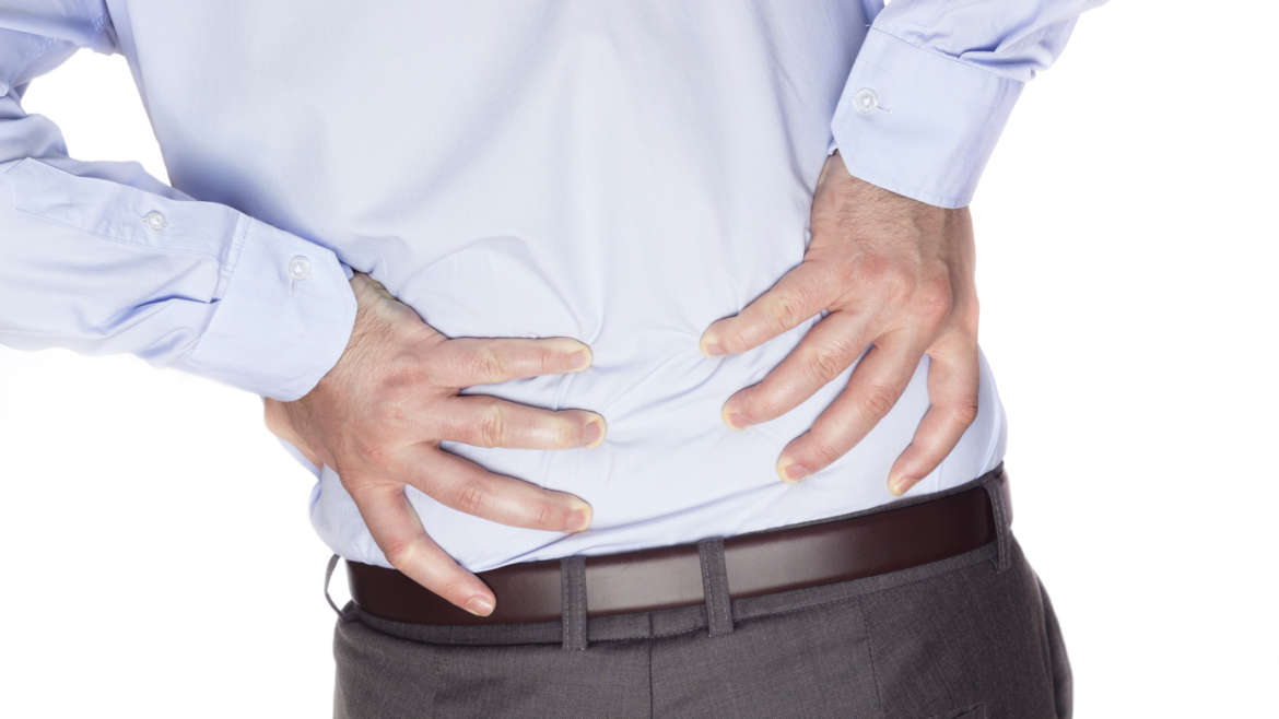 Who is most susceptible to lower back pain?