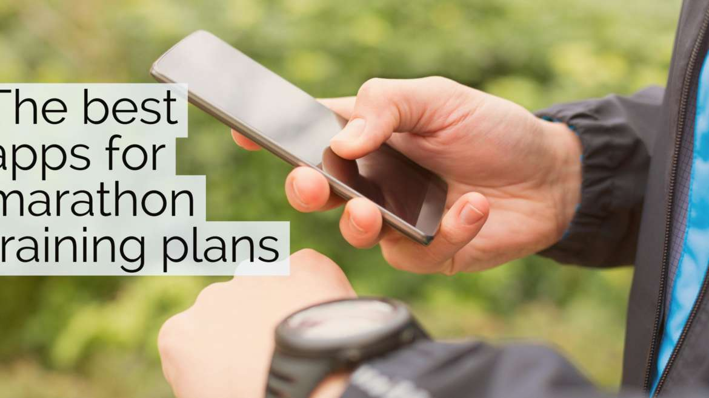 The best apps for marathon training plans