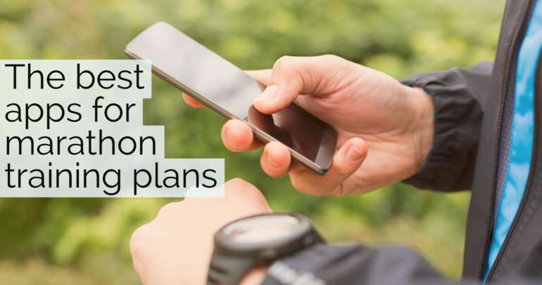The best apps for marathon training plans