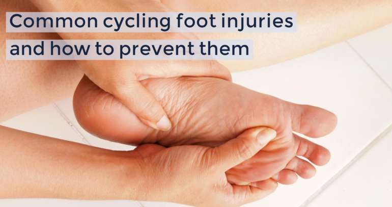 Common cycling foot injuries and how to prevent them