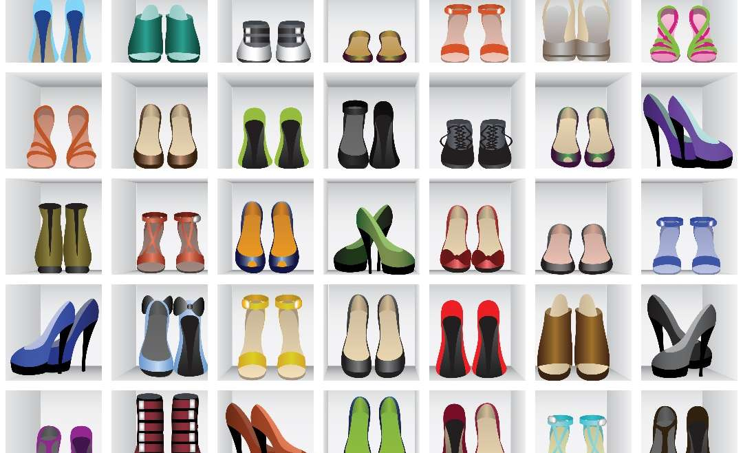 From killer heels to comfortable shoes