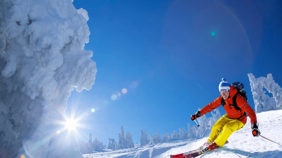 Want to feel fit for your skiing holiday?