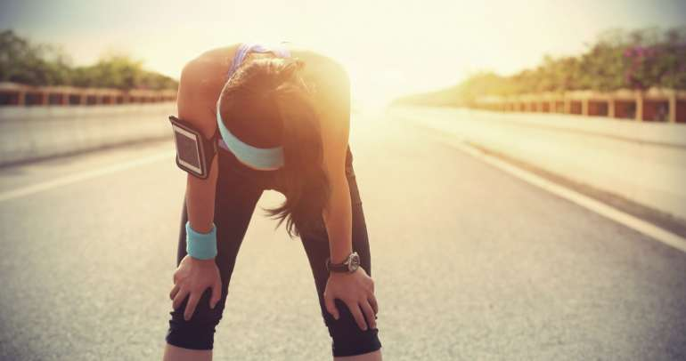 Signs that you're overtraining or doing too much too fast